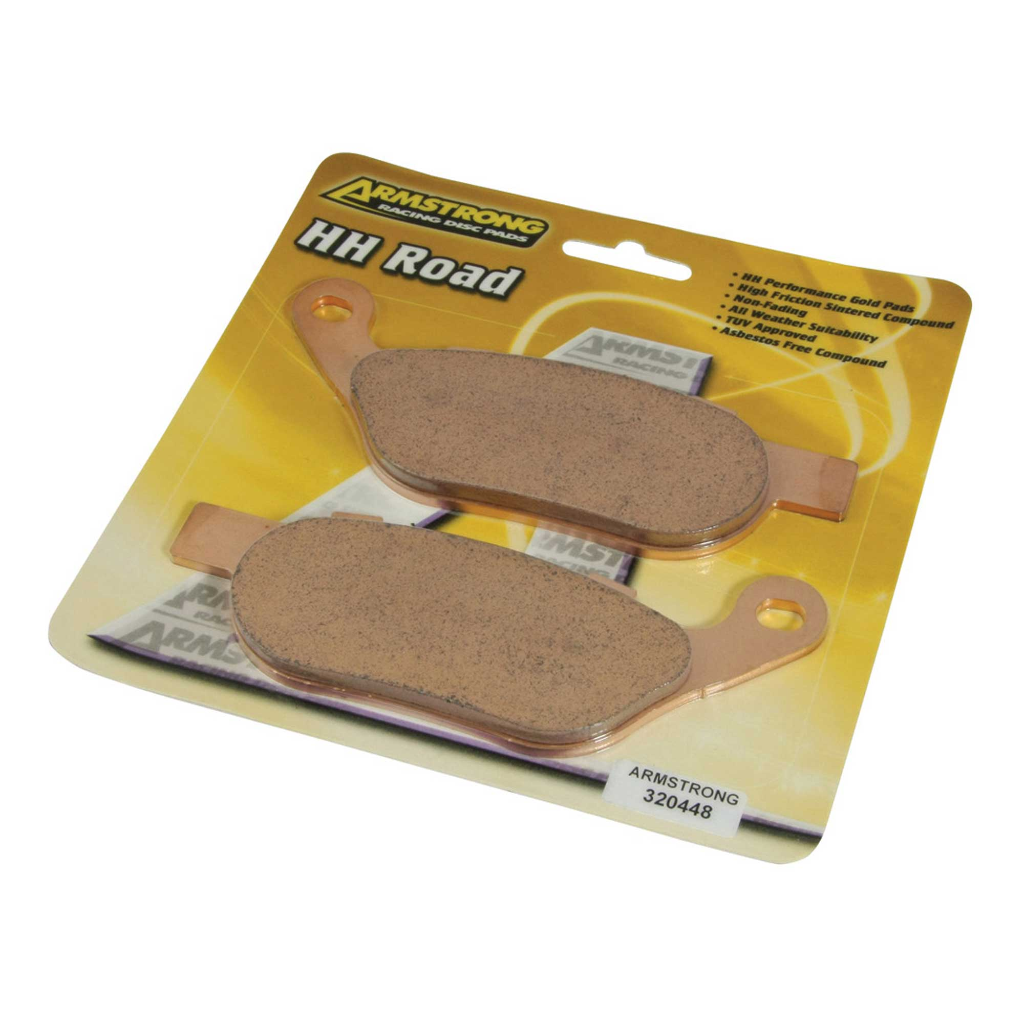 Armstrong HH Rear Brake Pads For Yamaha 2008 YZF-R6 13S1