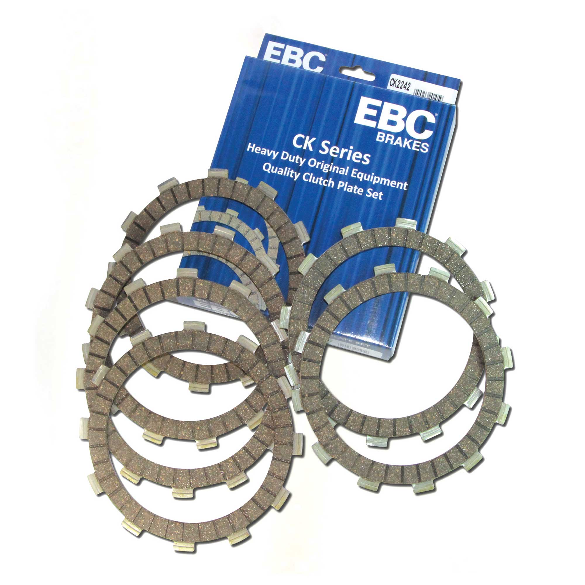 EBC Brakes CK3347 Clutch Friction Plate Kit