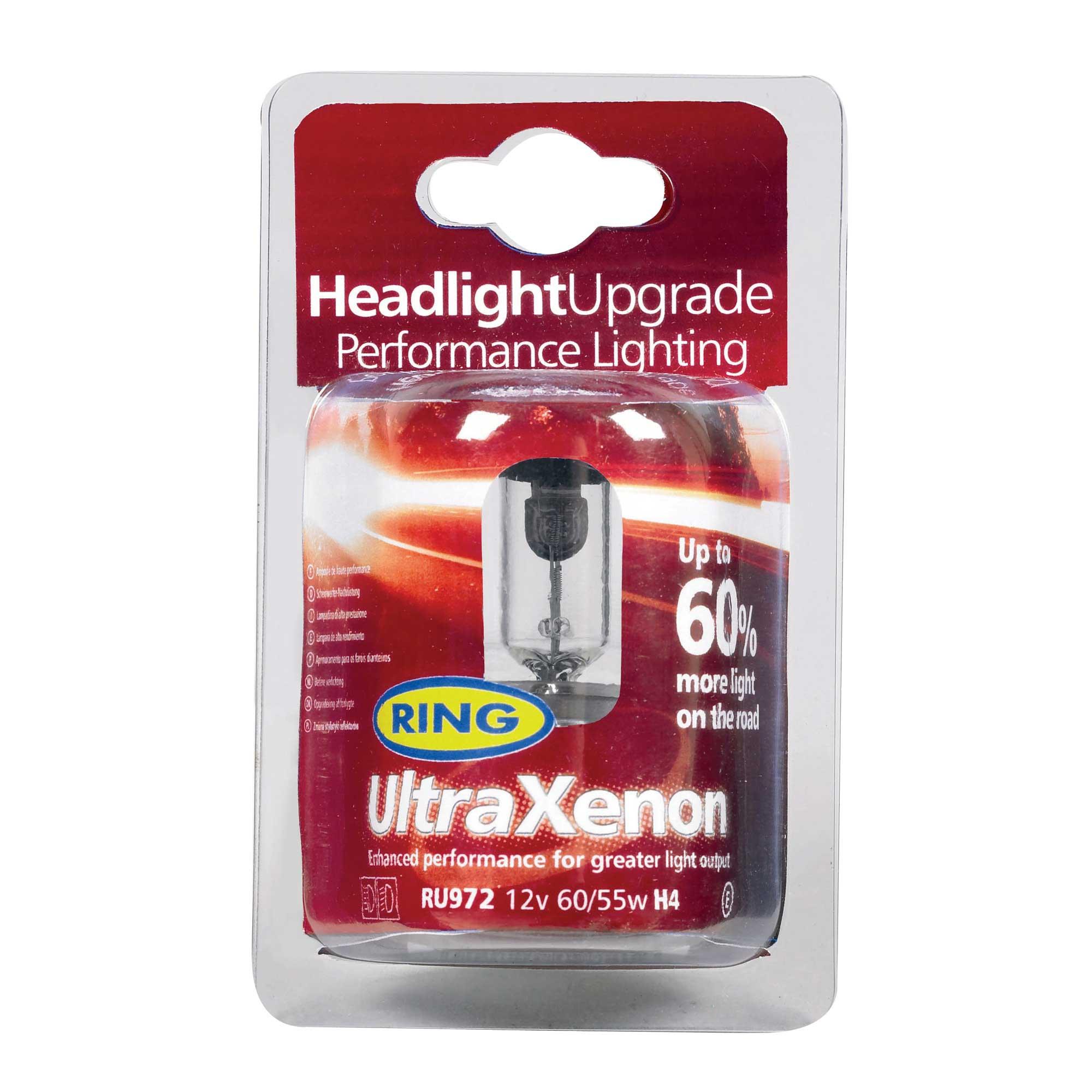 E Marked Ring Ultra Xenon Performance Bright Headlamp Car Bulb