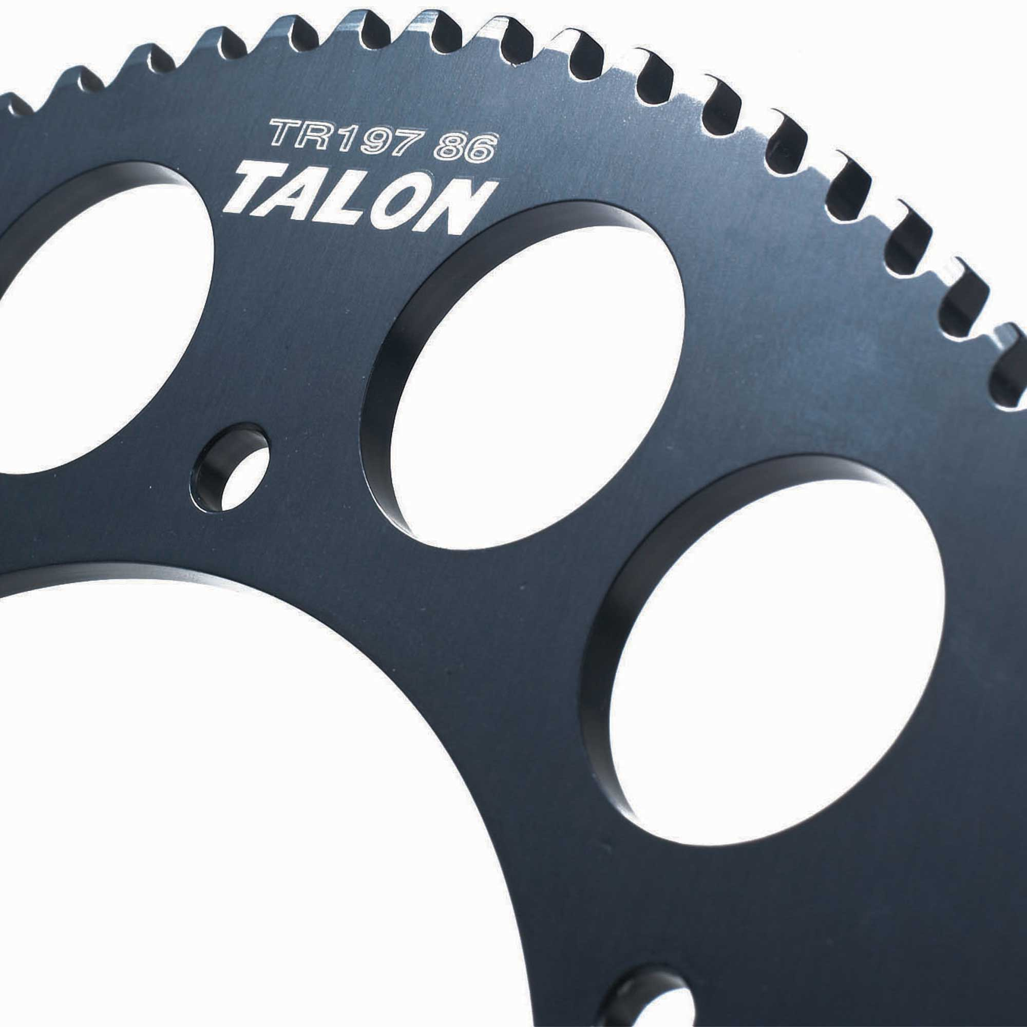Talon 219 Lightweight Anodised Kart//Karting Titanium Colour Sprockets 68 Teeth